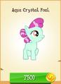 Aqua Crystal Foal MLP Gameloft.png