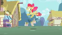 Apple Bloom derp eyes S02E06