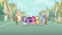 Applejack missing element animation error S3E13