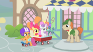 """Scootaloo """"we'll return the fan to you real soon"""" S1E18"""