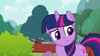 Twilight Sparkle pondering S2E21