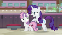 "Rarity ""do I know my baby sister"" S7E6"