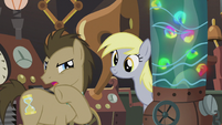 "Dr. Hooves ""I never could quite figure out how to get them to ignite"" S5E9"