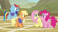 """Fluttershy """"how do we keep from worrying"""" S6E18"""