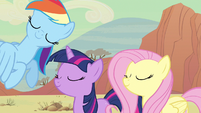 Rainbow Dash shaking head S2E14