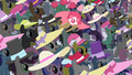 Rarity walks in the middle of the crowd S2E09.png