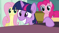 Twilight excited grin S2E16
