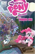 MLPFIM Pinkie Pie Micro Jetpack Comics RE Cover