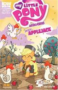 MLPFIM Applejack Micro Jetpack Comics RE Cover