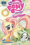 MLPFIM Fluttershy Micro Double Midnight RE Cover