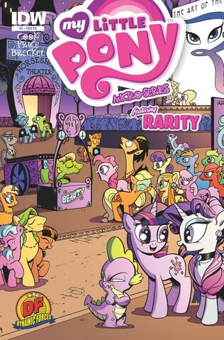 File:MLPFIM Rarity Micro Dynamic Forces RE Cover.jpg