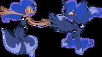 Princess Luna by trinityinyang