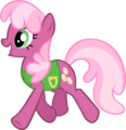 Cheerilee - Plant Team by Chromadancer.png