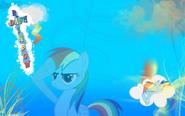 Fim rainbow dash wallpaper by milesprower024-d3enblu