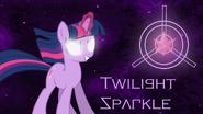 Twilight Sparkle wallpaper by artist-nero-inferno