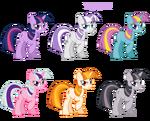 Twilight Sparkle contumes v.2 by artist-pika-robo