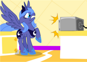 Color - Luna Vs. the Microwave by Chessie2003