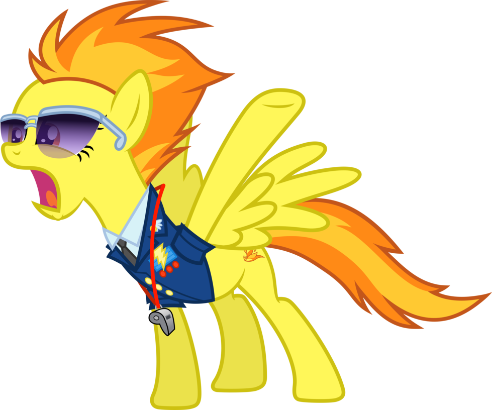 Image - Spitfire - Give Me 20 by D4SVader.png : My Little Pony Fan ...