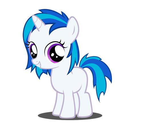 Image Dj Pon3 Filly Png My Little Pony Fan Labor Wiki