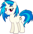 Vinyl Scratch - No Shades by MoongazePonies.png