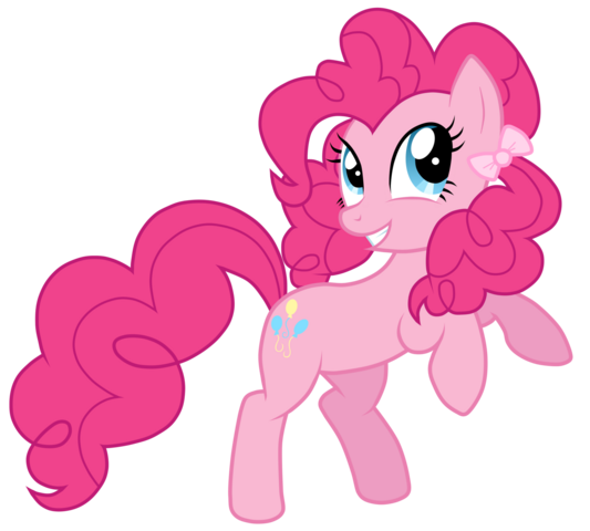 File:Pinkie's low pigtails decorated with bows.png