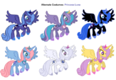 Princess Luna costumes 2