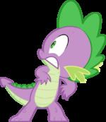 Spike scared by TwilightPoint