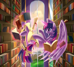Alicorn Twilight Sparkle by artist-aurarrius