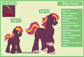 MLP Next Generation Bing Cherry by HazuraSinner