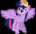 Alicorn twilight w coronation tiara by caliazian-d5w7zoz.png