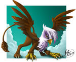 Gilda the griffon by 14 bis-d3723om