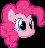 Pinkie Pie's head