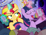 Rebecca Shoichet Twi and Sunset Autograph Card by PixelKitties