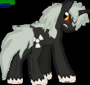 Godzilla jr pony by faith wolff-d6henyf