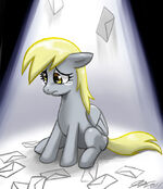 Derpy Hooves sad by artist-johnjoseco