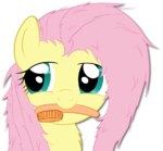 Fluttershy Brushie by o-Fluttershy-o