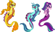 Unique Style Dazzlings-Sirens by StarryOak