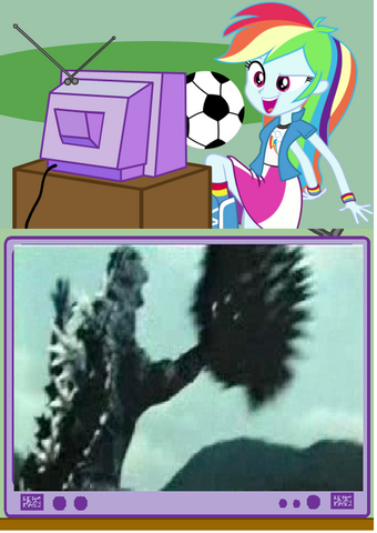 File:Rainbow dash with godzilla 2004 play footanall.png