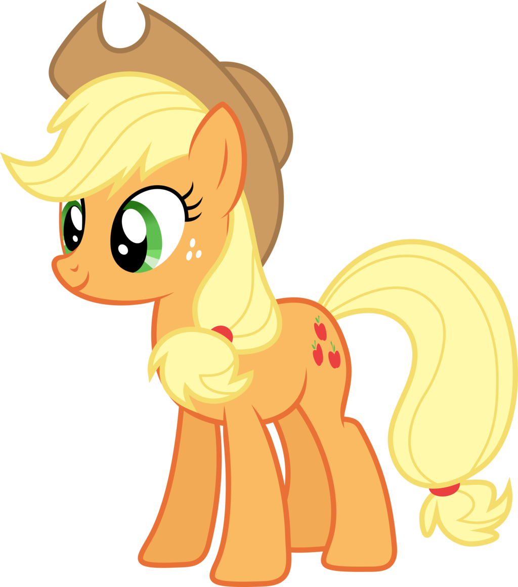 Applejack my little pony fan labor wiki fandom powered - My little pony wikia ...