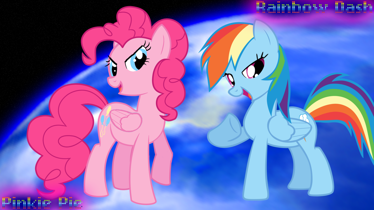 Image pinkie pie and fluttershy flying png my little pony fan - Pinkie Pie X Rainbow Dash