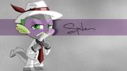 Spike wallpaper by artist-jeremis