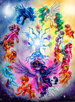 The magic of friendship by frostykat13-d9bnsmy