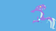 Trixie minimalistic wallpaper by kitana coldfire-d4bnee8