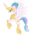 Celestia in armor 2 png by larsurus-d5owicp.png