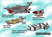 Akashic pony airship fleet by kashchung-d67quhb