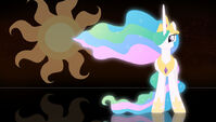 Princess Celestia wallpaper by artist-chaz1029