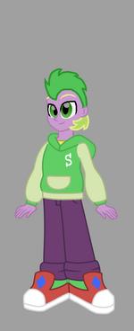 Equestria girl spike