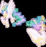 Princess Celestia by trinityinyang