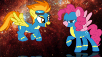 Pinkie Pie x Spitfire wallpaper