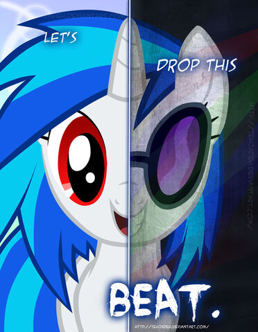 File:Mlp two sides of vinyl scratch by tehjadeh-d4m969r.jpg